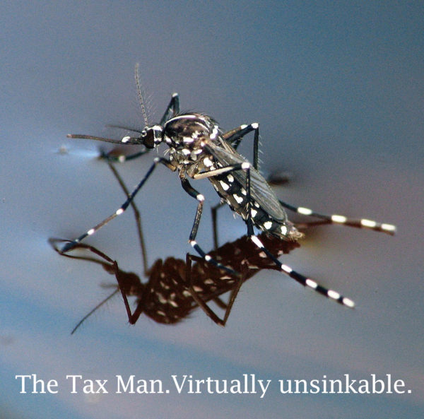 mosquito unsinkable 600x593 SEX, MONEY, BLOOD.