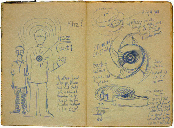 diary page 600x444 UFO PAINTING