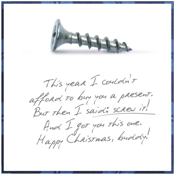 christmas screw 600x600 10 CHEAP & BRILLIANT GIFTS FOR CHRISTMAS