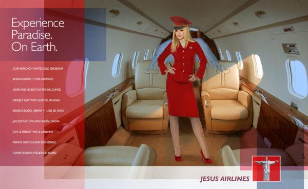 JESUS LUXURY AD