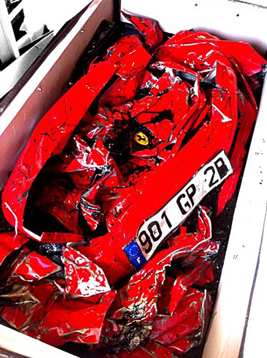 Crashed-Ferrari-Table-2