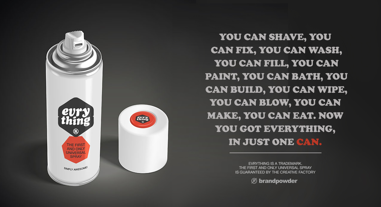 spray voyage advert